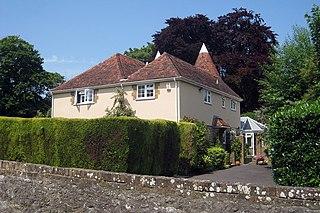 Detling village in the United Kingdom