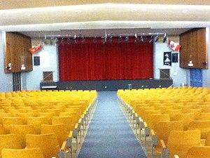 West Hill Collegiate Institute - The 598-seated Francis S. Jennings Auditorium.