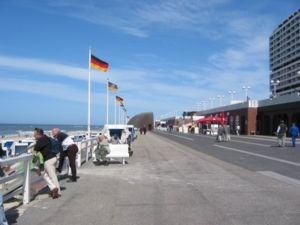 Westerland, Germany - Kurpromenade in 2003