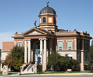 Weston County, Wyoming - Image: Weston County Courthouse Wyoming