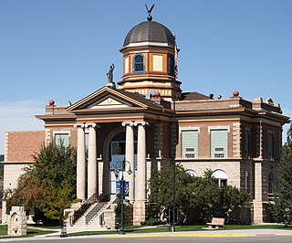 Weston County Courthouse United States historic place