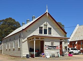 White Hills, Victoria - Image: White Hills Uniting Church Hall 001