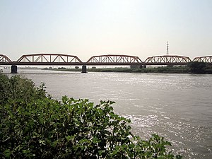 White Nile Bridge, Omdurman to Khartoum, Sudan