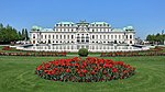 Belvedere Vienna April 2018