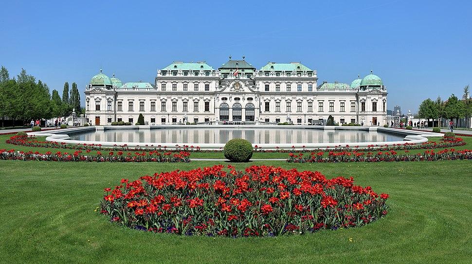 Wien - Schloss Belvedere, oberes (2)