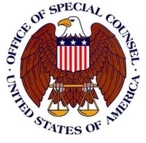 United States Office of Special Counsel - Image: Wiki OSC Seal