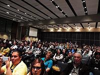 Wikimanía 2015 - Day 4 - Luis von Ahn conference - LMM (2).jpg