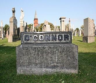 Una O'Connor (actress) - O'Connor's gravestone