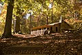 Wilderness cabin in Eno River State Park - panoramio.jpg