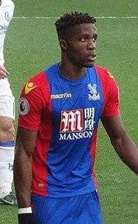 Wilfried Zaha Ivorian association football player (born 1992)