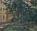 Wilhelm Trübner - Schloss Hemsbach mit Kanonen - 9345 - Bavarian State Painting Collections.jpg