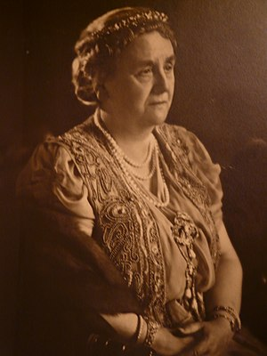 Wilhelmina of the Netherlands - Queen Wilhelmina in 1948