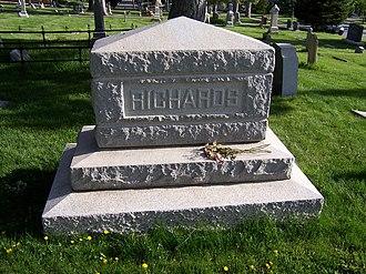 Willard Richards - Willard Richards' grave marker