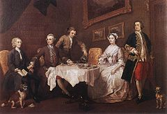 The Strode Family, 1738, Tate Britain