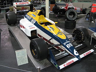 Williams Grand Prix Engineering - Williams FW12C, the first powered by a Renault engine