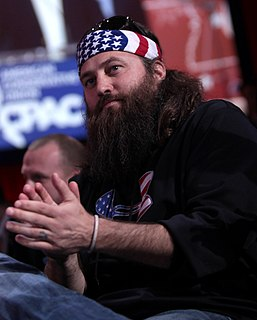 Willie Robertson American TV personality, businessman, outdoorsman, hunter, and author
