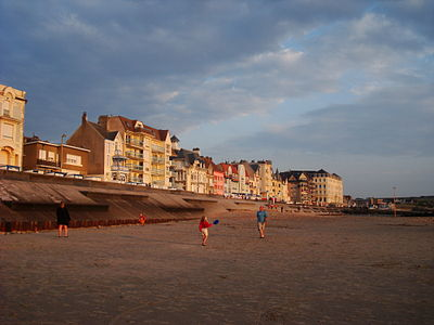 Wimereux, France, beachfront