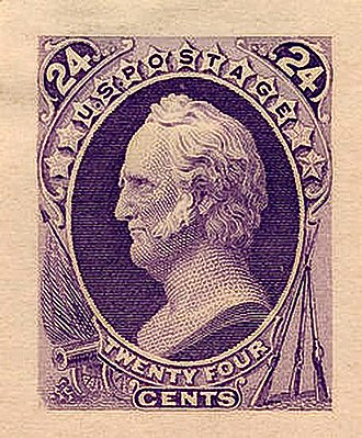 Lost Continental - Image: Winfield Scott 2 1870 Issue 24c
