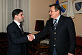 With the President of Bosnia dr. Harithr in Sarajevo.jpg