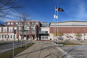 Woburn Memorial High School - Image: Woburn Memorial High School, Woburn MA