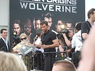 X-Men Origins: Wolverine - Hugh Jackman at the Tempe Premiere.