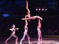 Women's hand balance, Circus Juventas, Sawdust 2010.jpg