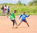Women in sport playing football 01.jpg