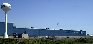 Woodhaven, Michigan - Ford's Woodhaven Stamping Plant