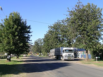 Woolomin, New South Wales - The main street