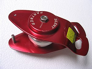 Self-locking device - The Wren Industries 'Silent Partner'.