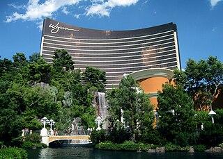 Wynn Las Vegas Casino located on the Las Vegas Strip in Paradise, Nevada