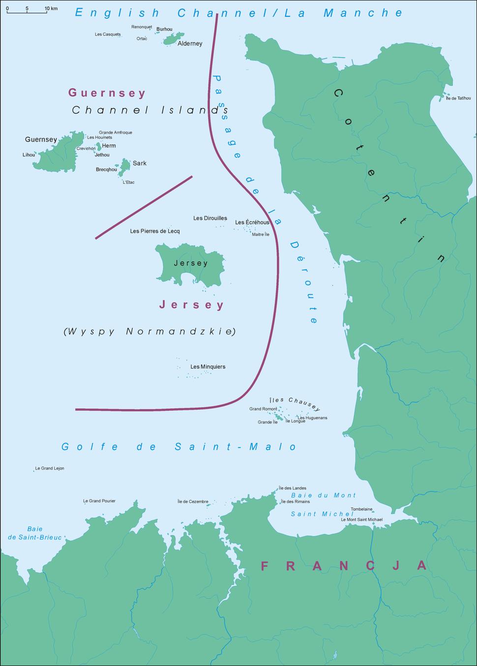 Wyspy Normandzkie