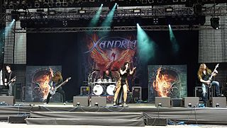 Xandria German band