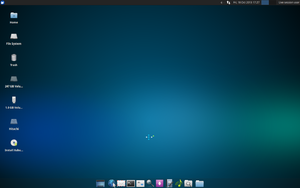 "Screenshot von Xubuntu 13.10 ""Saucy Salamander"""