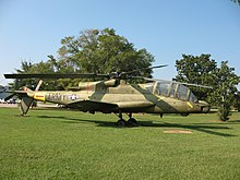 AH-56 side view, on museum display in 2007.