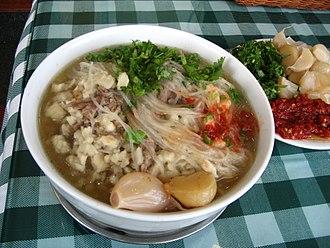 Shaanxi cuisine - Image: Yangroupaomo 2