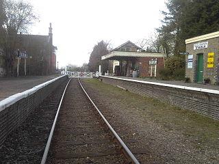 Yaxham railway station Station in Norfolk, England