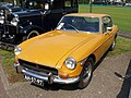 Yellow 1970 MG BGT, Dutch licence registration AH-57-97.JPG