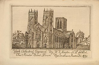 Etching by William Martin, brother of arsonist Jonathan Martin York Cathedral (BM 1958,0124.2).jpg