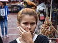 Young Woman in Street - Chinatown - Bangkok - Thailand (33903345583).jpg