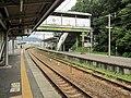 Yuasa Station platform.jpg