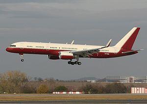 Yucaipa Companies - Yucaipa Boeing 757-200 bizjet