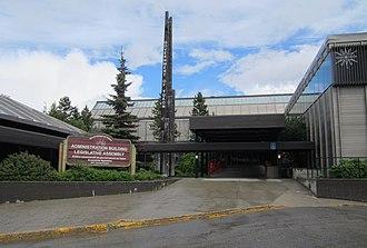 Legislature of Yukon - Image: Yukon Legislature main entrance