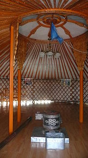 Yurt hearth 1