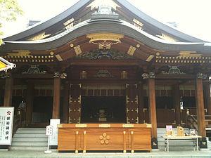 Yushima Tenman-gū - Image: Yushima tenmangu shrine