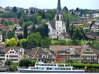 Richterswil Place in Zürich, Switzerland