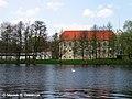 Zamek w Szczecinku - widok od strony jeziora Trzesiecko - 002.jpg