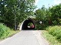 Zelené Předměstí, východní silniční most přes severní prodloužení ulice U Trojice (01).jpg