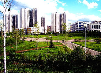 Microdistrict - 16th Microdistrict of Zelenograd, Russia
