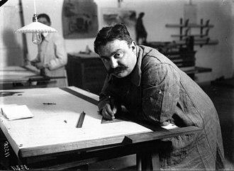 Paul Zuccarelli - Zuccarelli in 1912